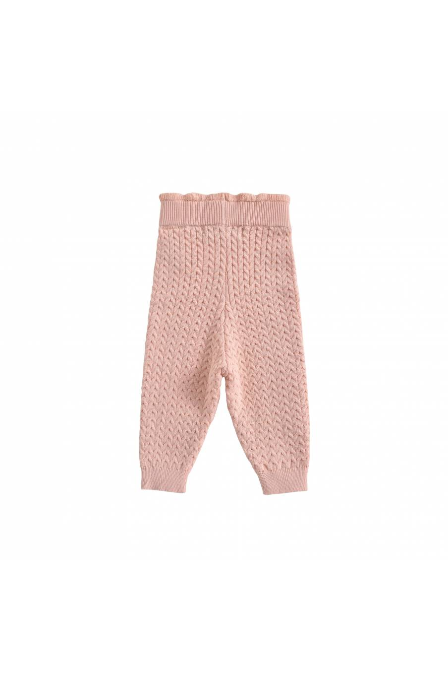 boheme chic vintage leggings bébé fille moldavia blush