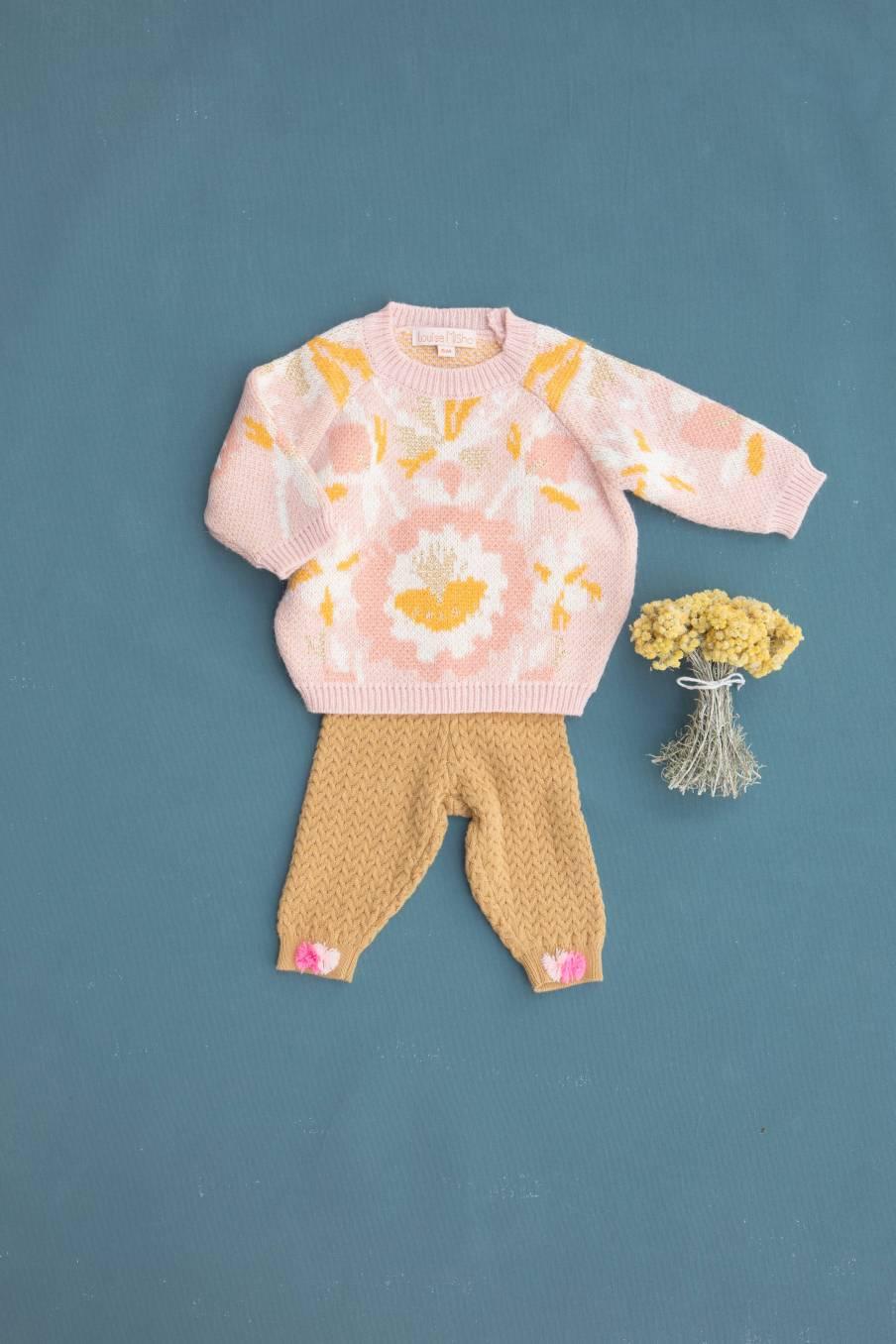 boheme chic vintage leggings bébé fille moldavia spicy