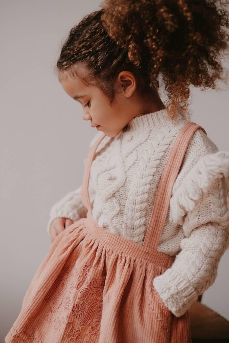 boheme chic vintage jupe bébé fille eleonor sienna velvet