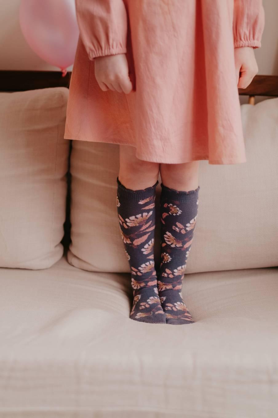 boheme chic vintage chaussettes bébé fille chihi storm