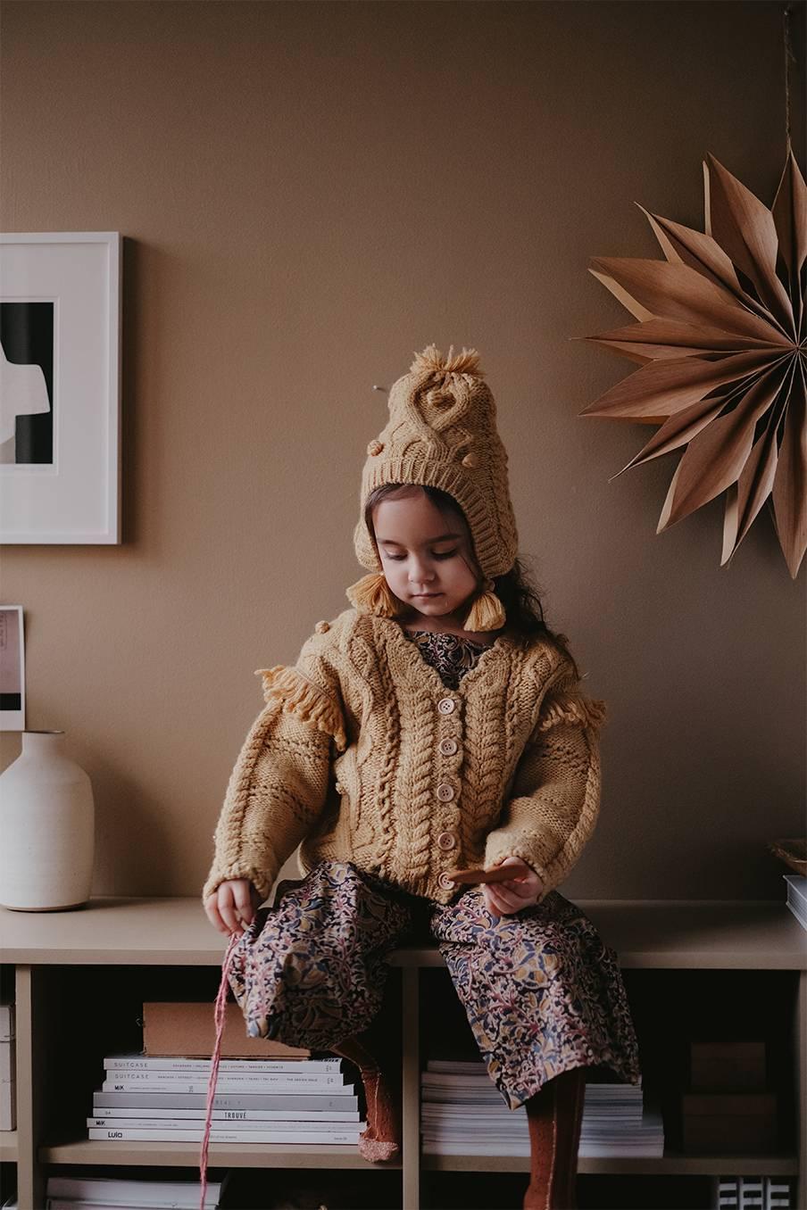 boheme chic vintage bonnet bébé fille lauria spicy
