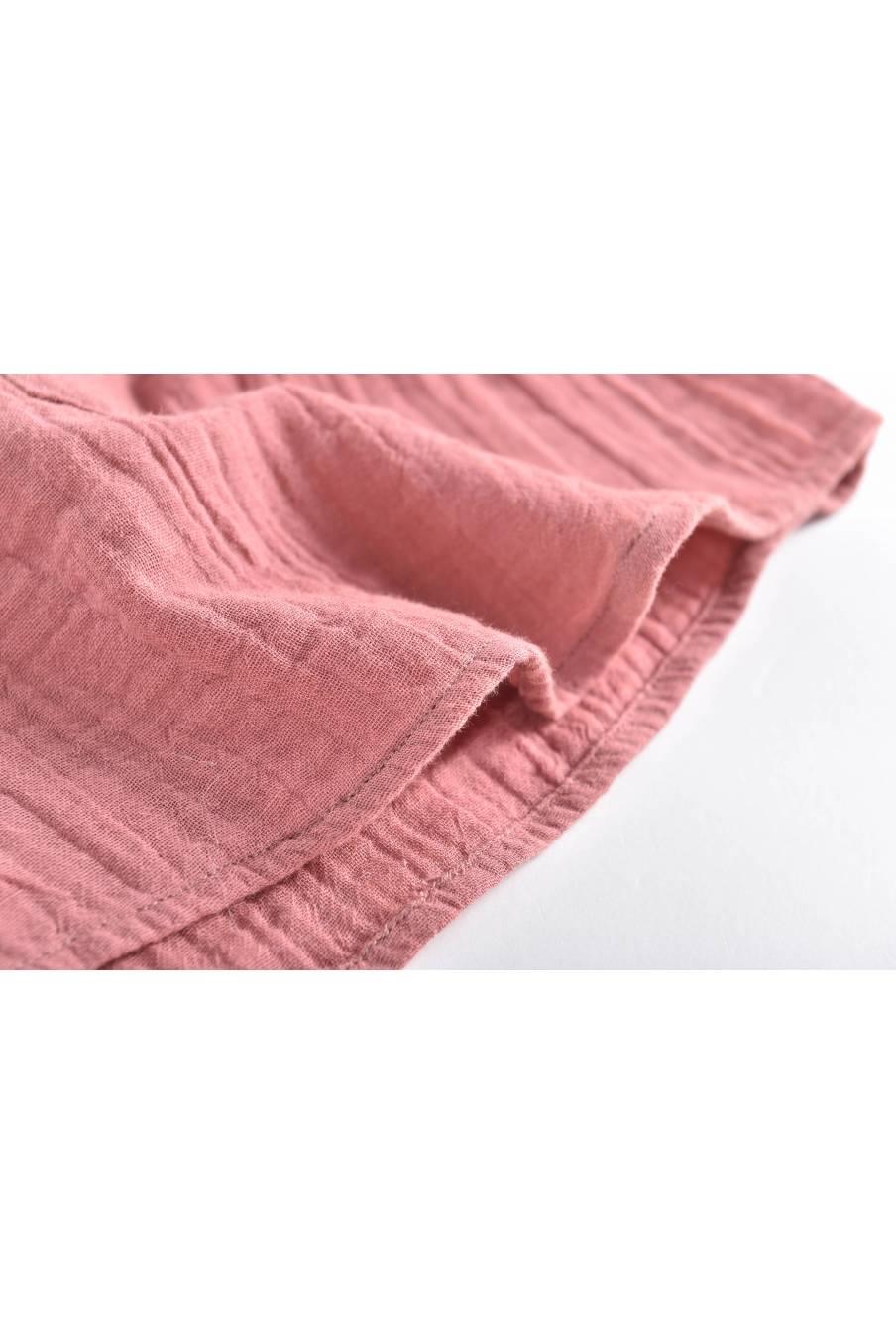boheme chic vintage chemise bébé garcon aman redwood