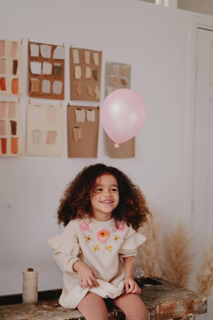 boheme chic vintage robe bébé fille milusa crème