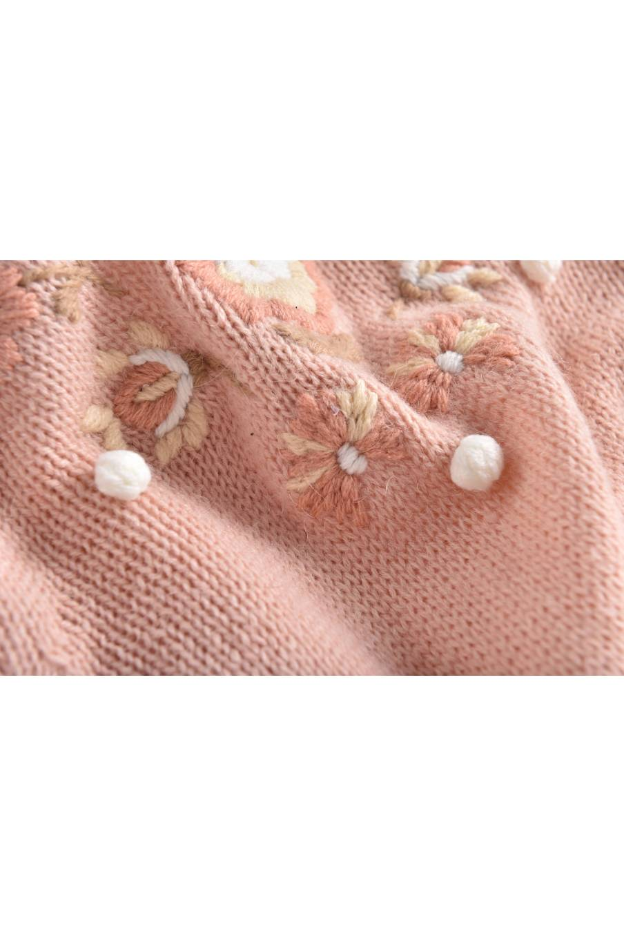 boheme chic vintage robe bébé fille milusa blush