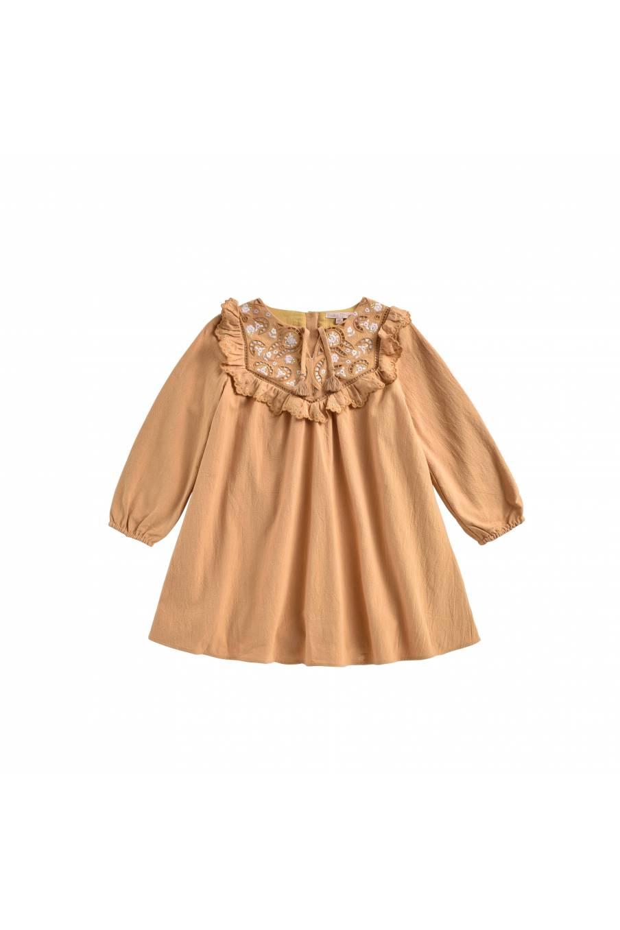 boheme chic vintage robe bébé fille maien spicy