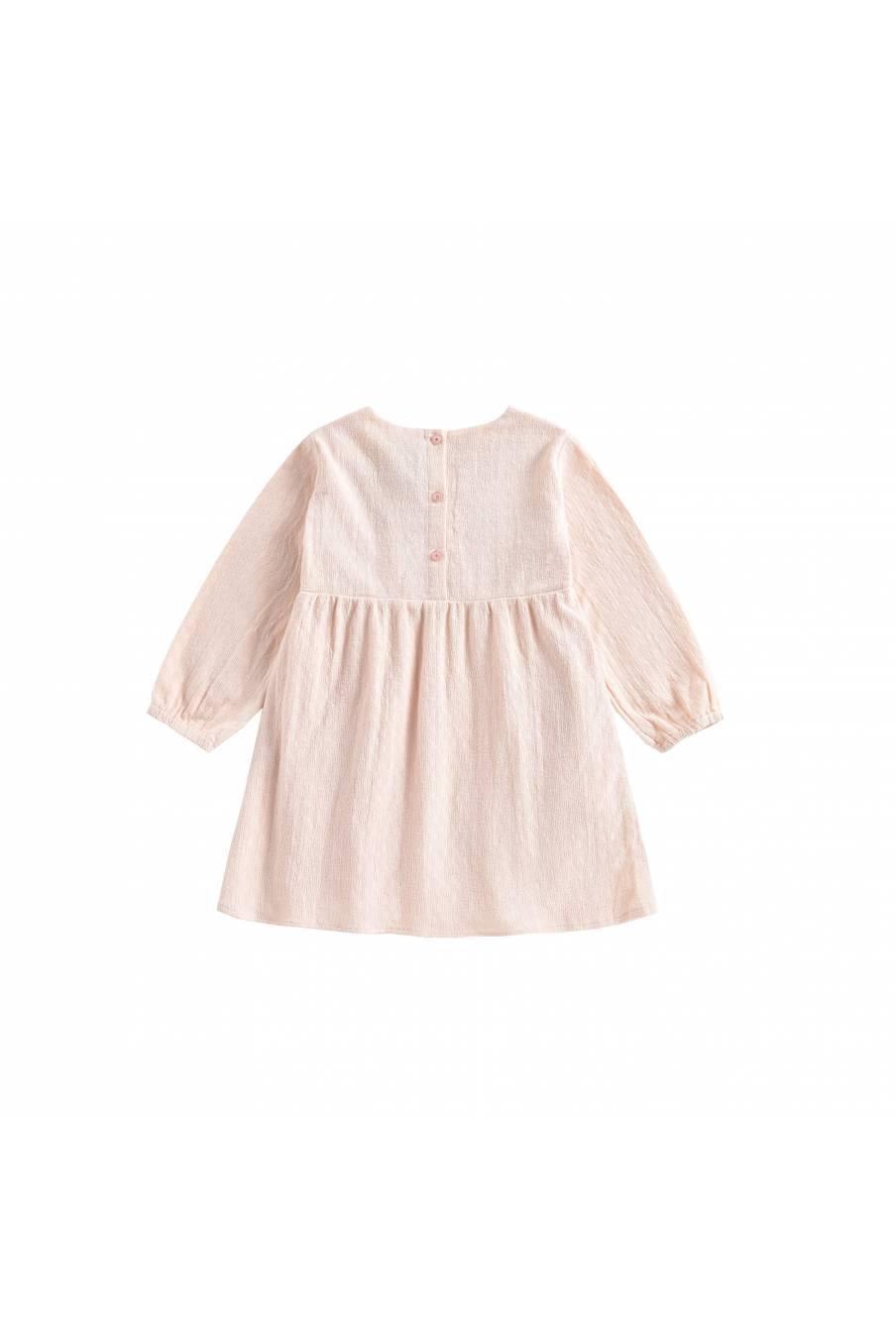 boheme chic vintage robe bébé fille sannali blush