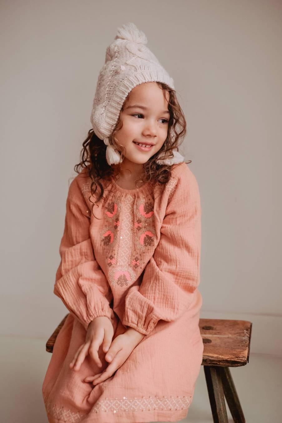 boheme chic vintage robe bébé fille livia sienna