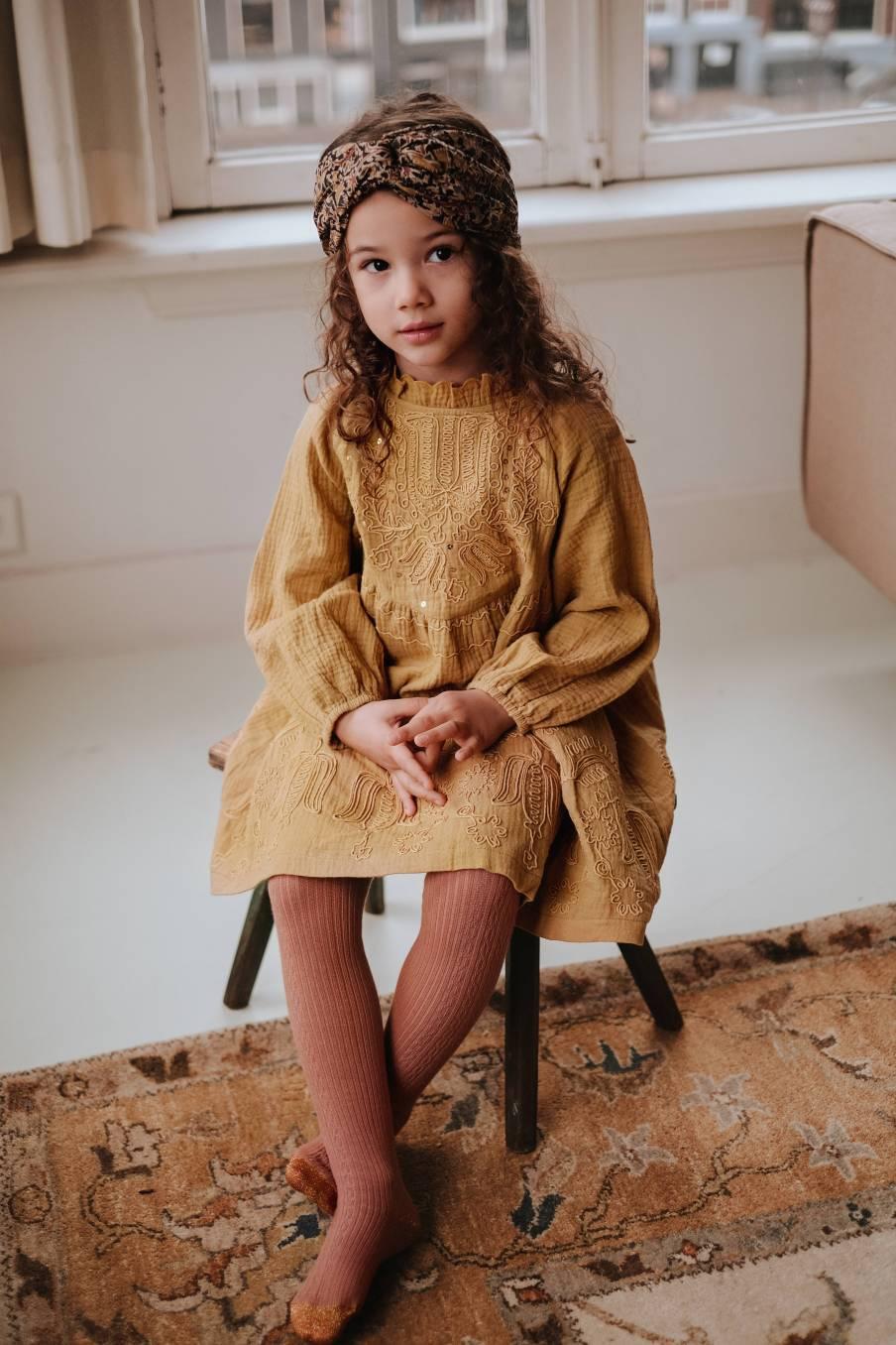 boheme chic vintage robe bébé fille suenna spicy