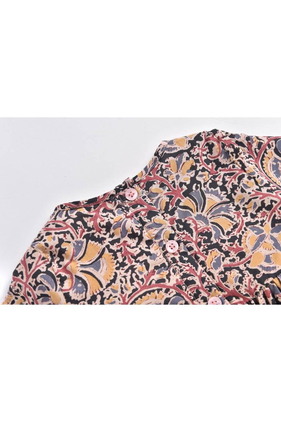 boheme chic vintage robe bébé fille rouya nordish flowers