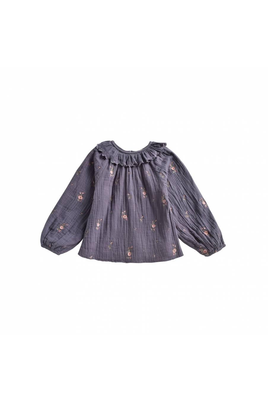 boheme chic vintage blouse bébé fille sandrine storm flowers