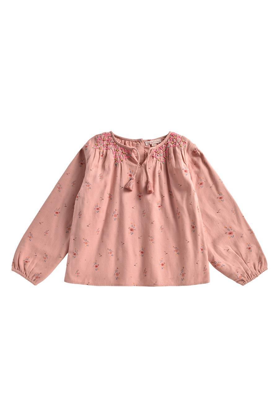 boheme chic vintage blouse bébé fille cada sienna meadows