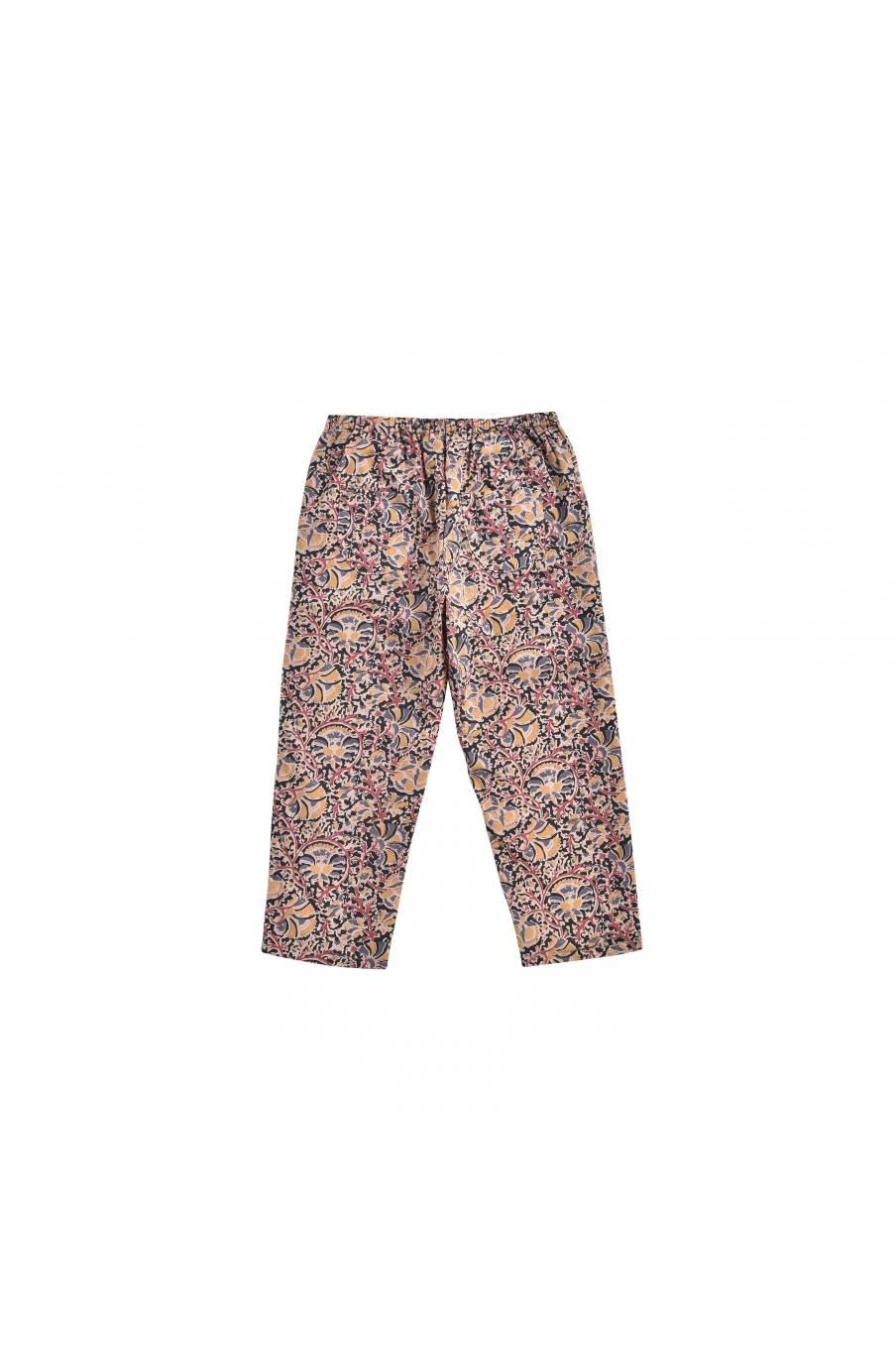boheme chic vintage pantalon bébé fille saca nordish flowers