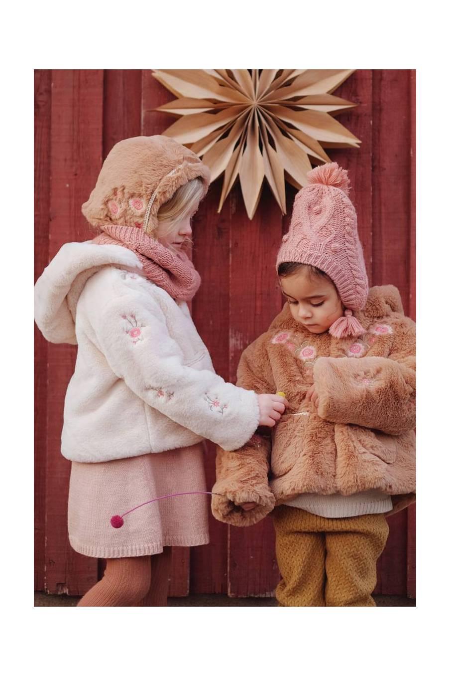 boheme chic vintage bonnet bébé fille lauria sienna