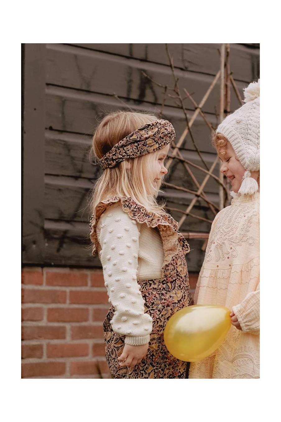 boheme chic vintage bandeau bébé fille daia nordish flowers