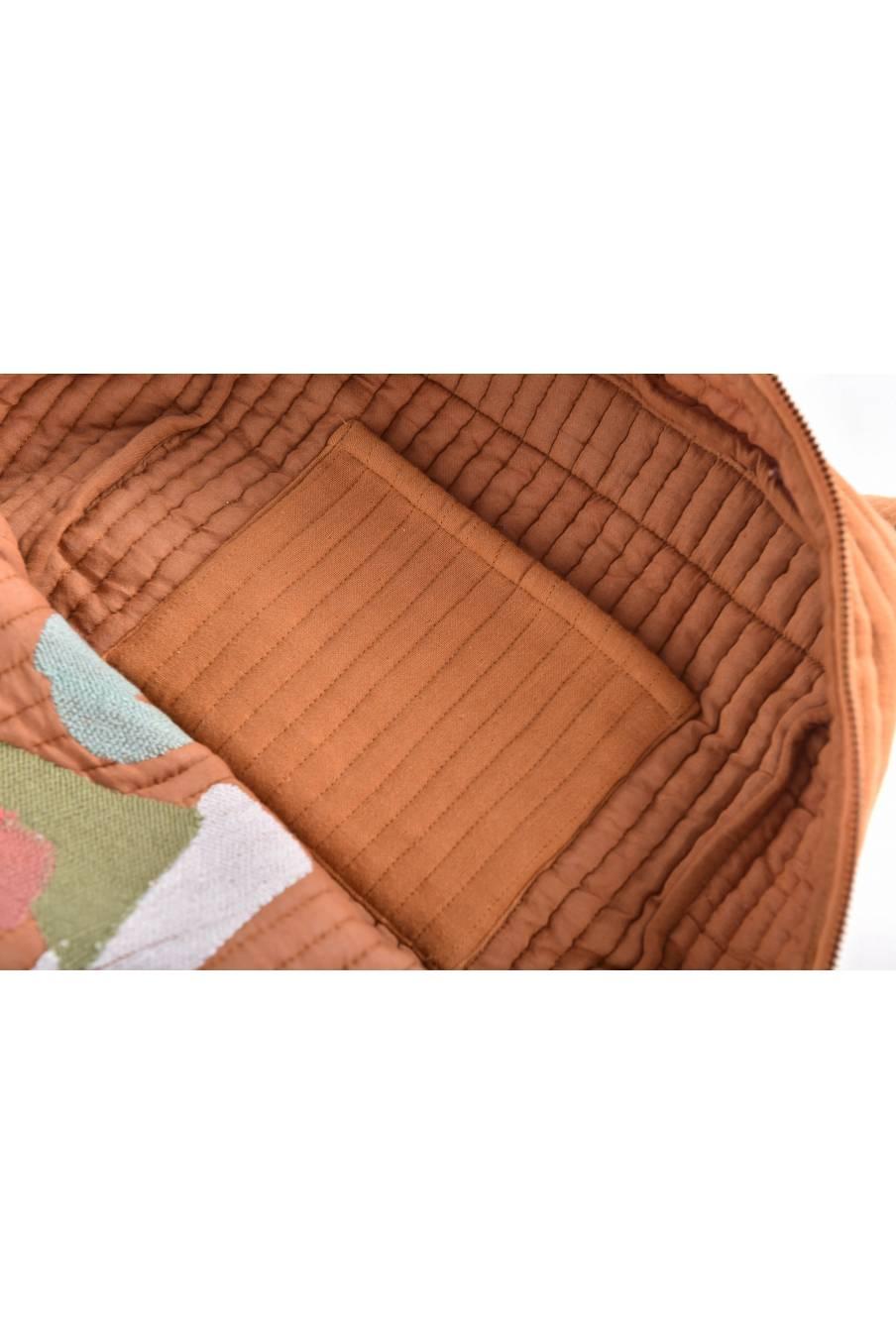 boheme chic vintage sac à dos unisex alois dark safran