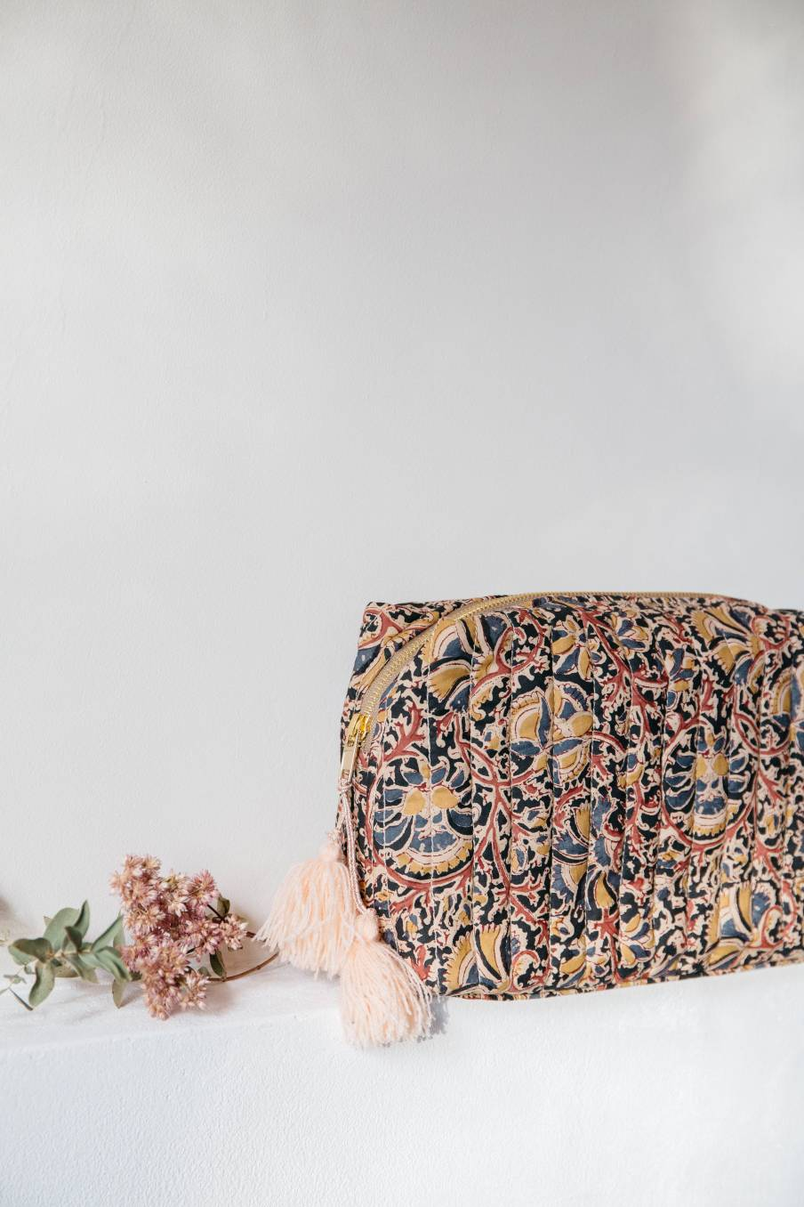 boheme chic vintage pochette femme bala nordish flowers