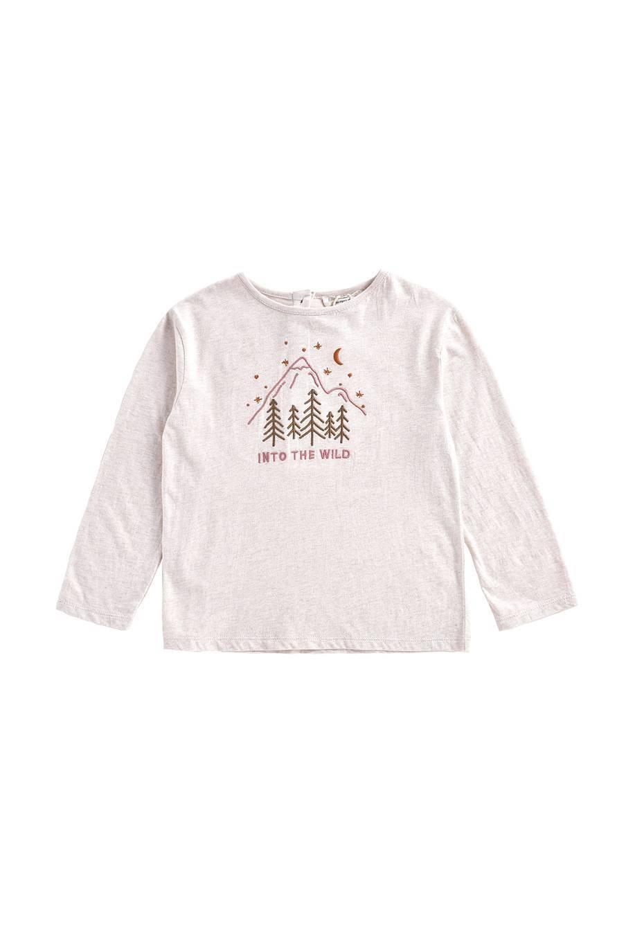 boheme chic vintage t-shirt bébé garcon abi crème