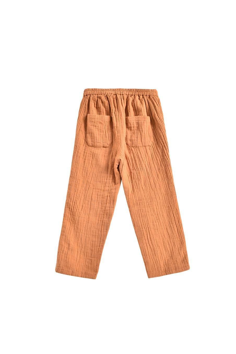 boheme chic vintage pantalon bébé garcon acilu dark safran