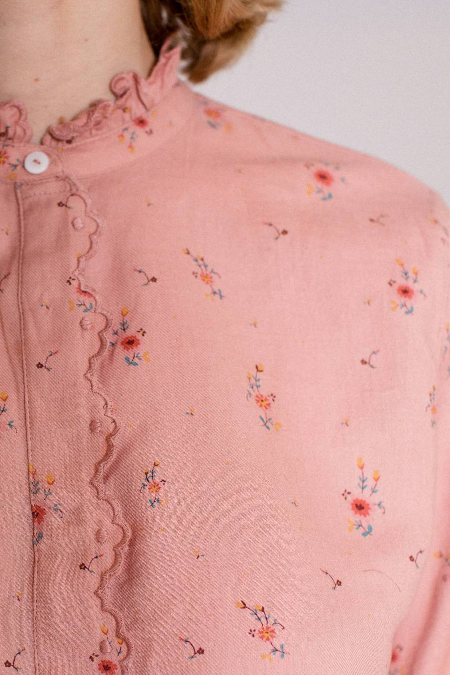 boheme chic vintage blouse femme edith sienna meadows