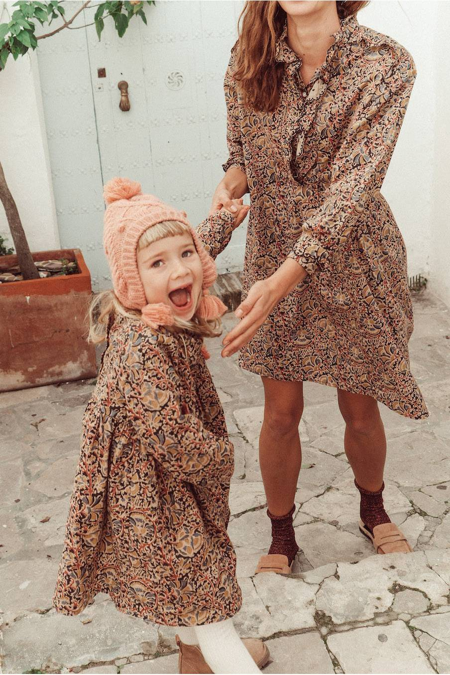 boheme chic vintage robe femme wara nordish flowers