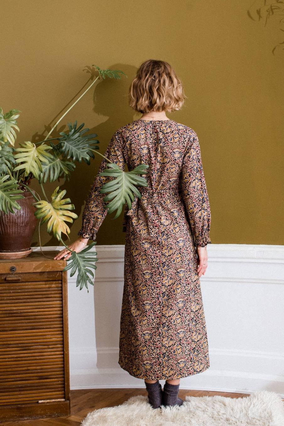 boheme chic vintage robe femme nouchka nordish flowers