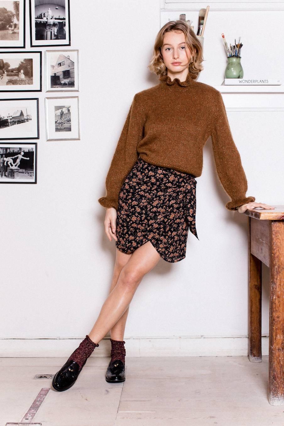 boheme chic vintage jupe femme charlie gipsy flowers