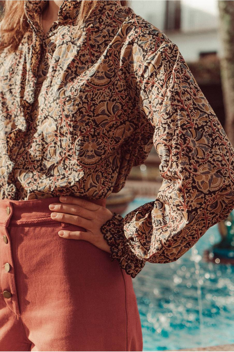 boheme chic vintage jean femme suzanna chataigne