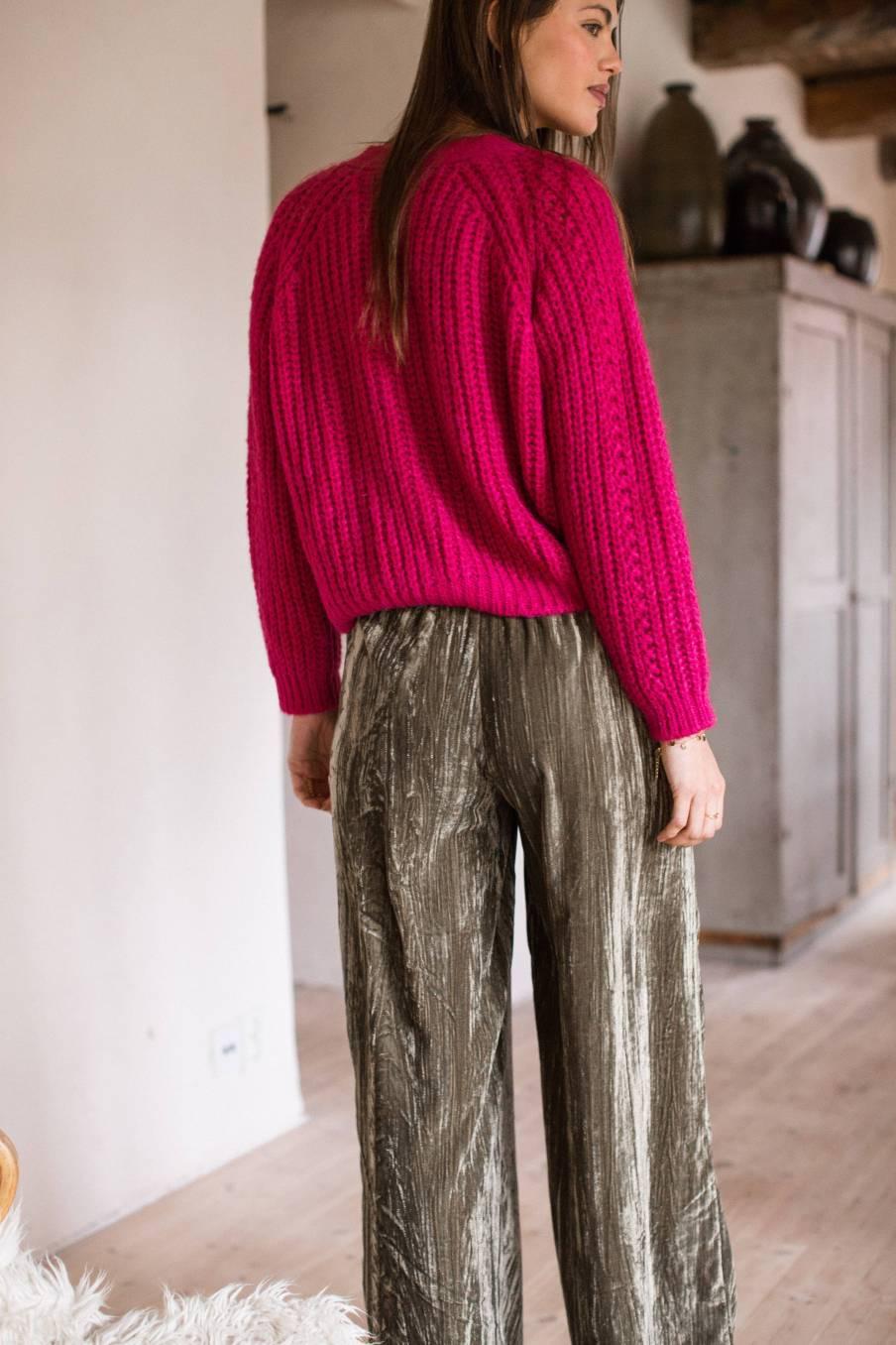 boheme chic vintage pantalon femme olivia olive velvet