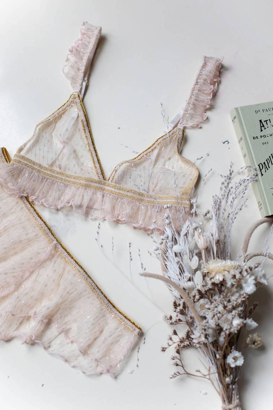 boheme chic vintage soutien-gorge femme roxy blush