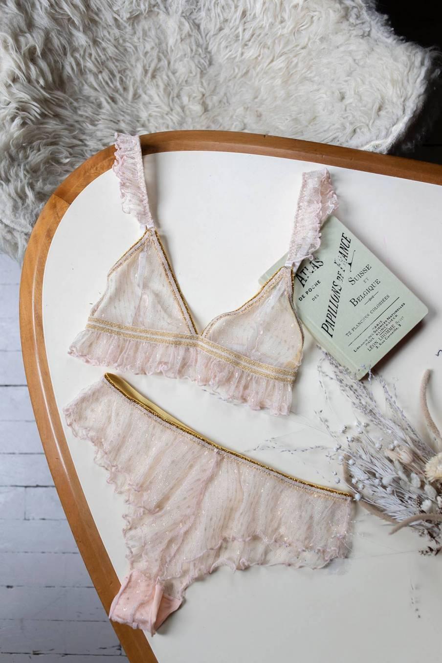 boheme chic vintage culotte femme lollie blush