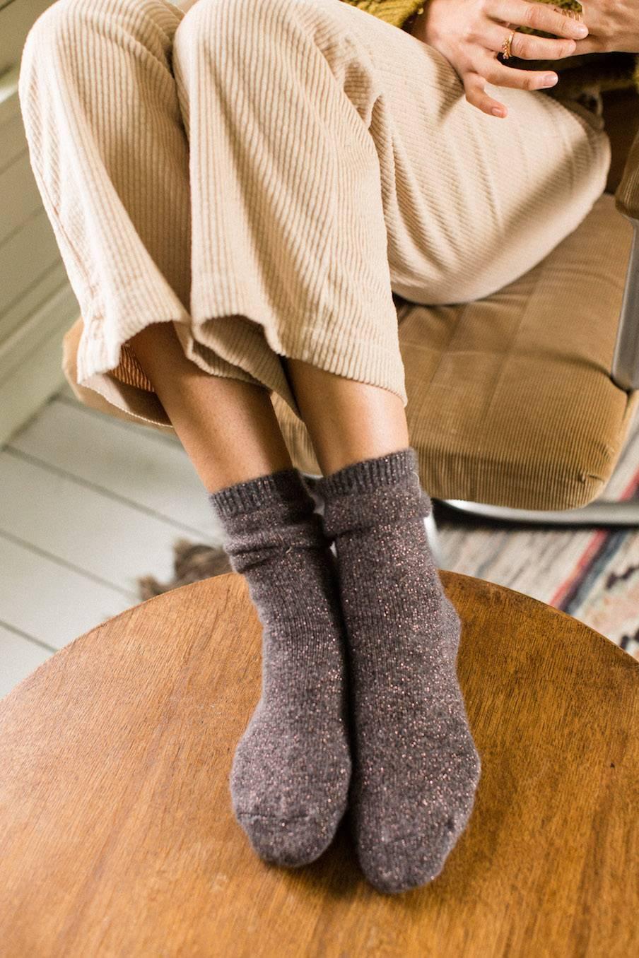 boheme chic vintage chaussettes femme piria storm