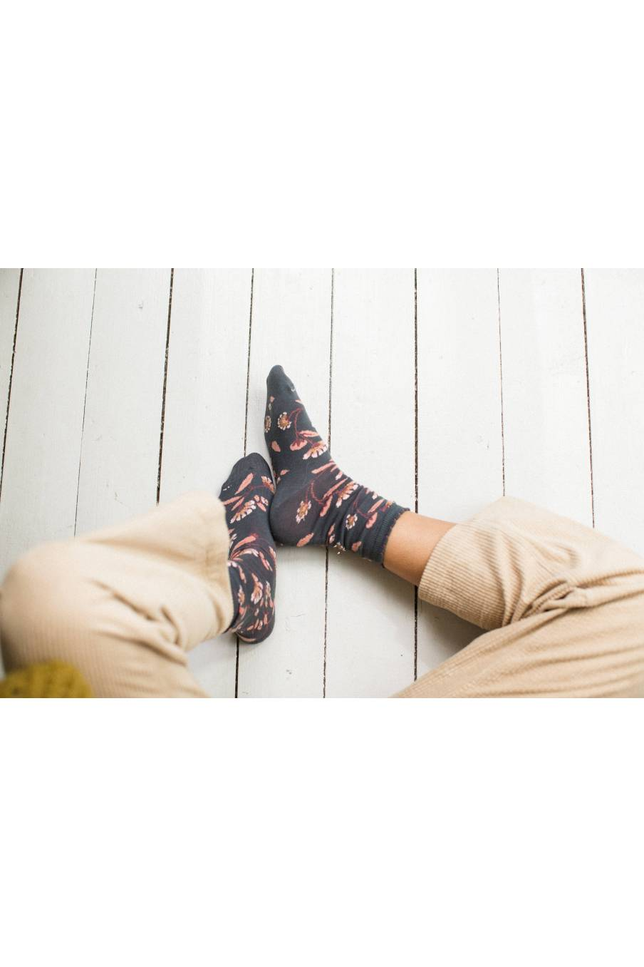 boheme chic vintage chaussettes femme chihi storm