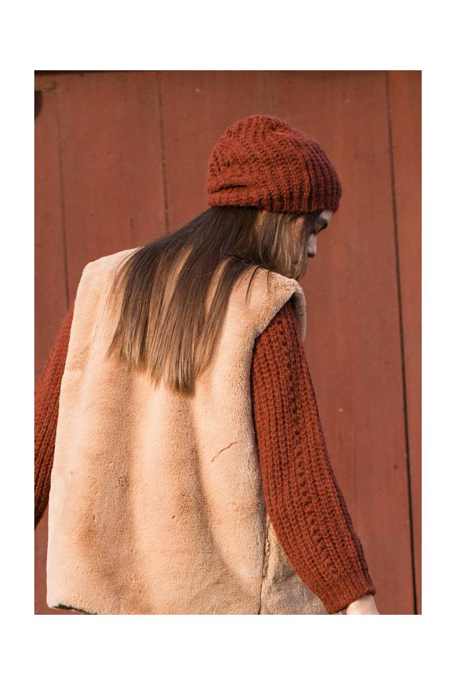 boheme chic vintage bonnet femme sandra chataigne