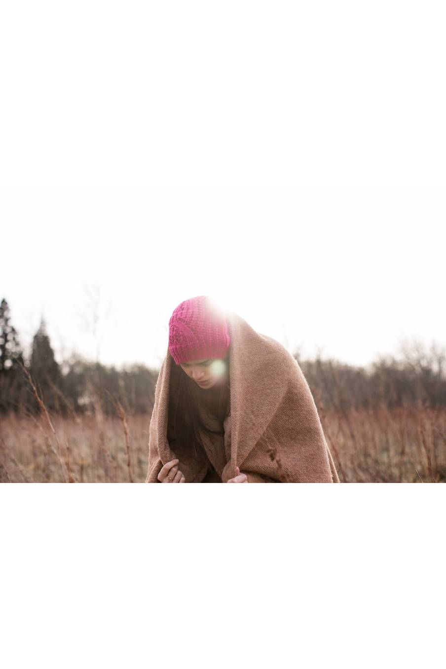 boheme chic vintage bonnet femme sandra fuchsia