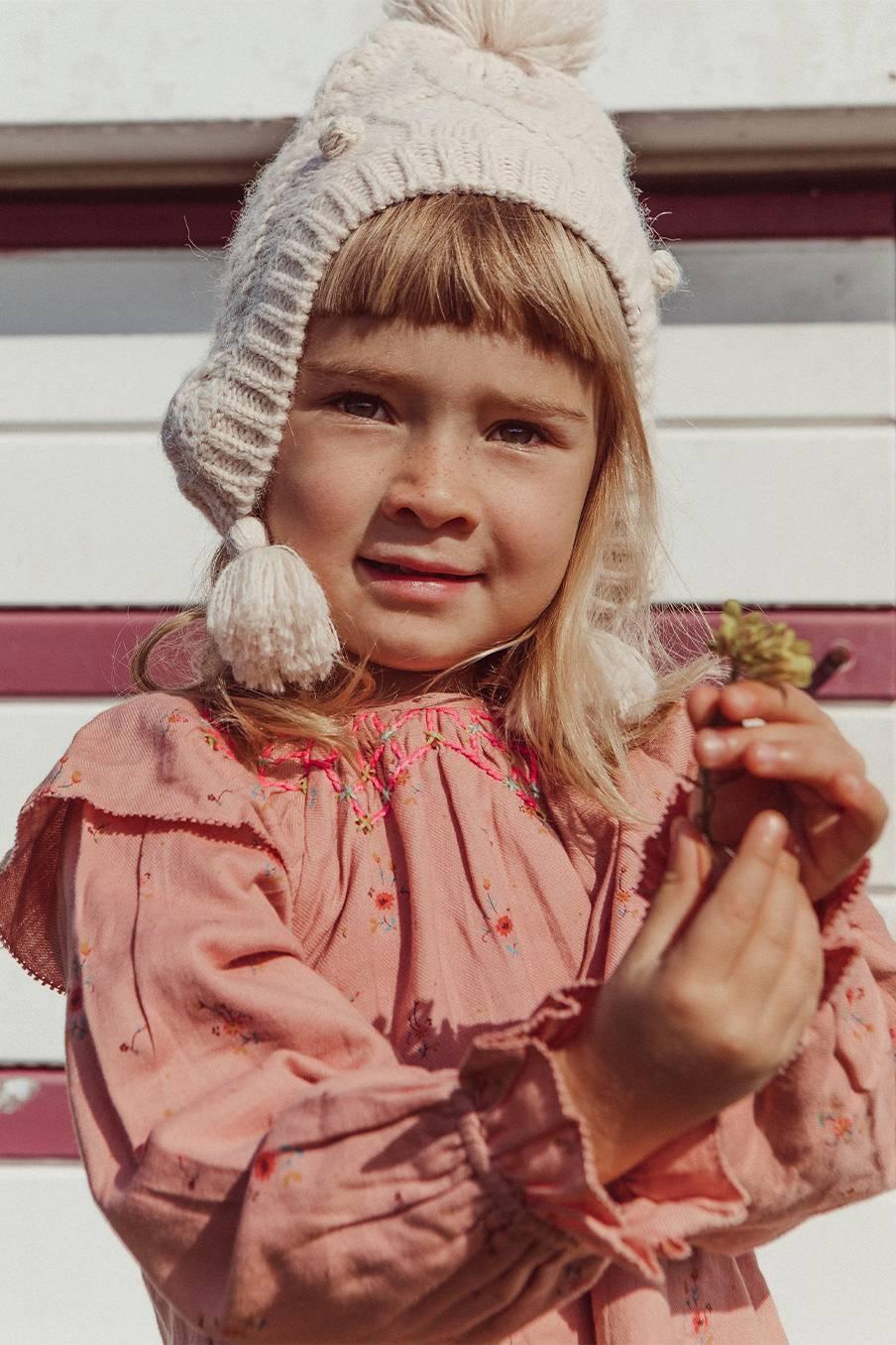 boheme chic vintage robe bébé fille lorena sienna meadows