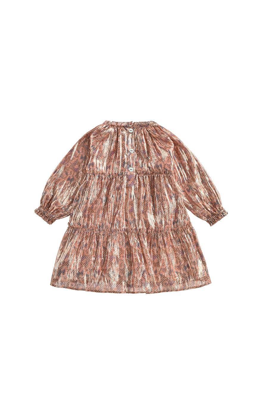 boheme chic vintage robe bébé fille sonia sienna polka dots