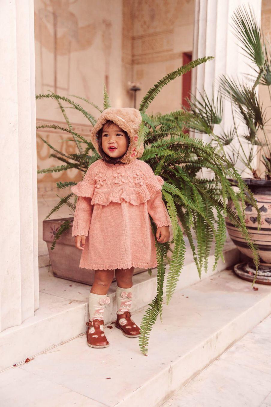 boheme chic vintage robe bébé fille szevana sienna