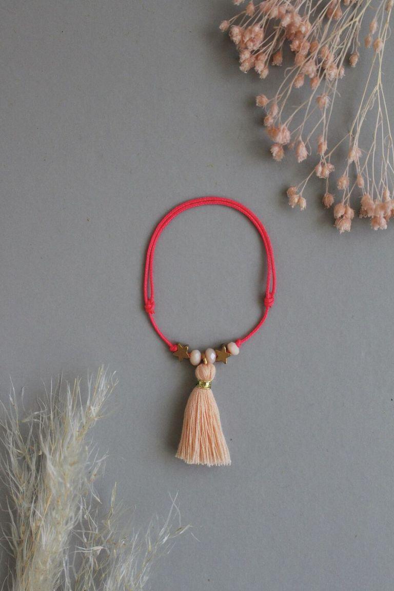 bohemian chic vintage bracelet girl manuela blush