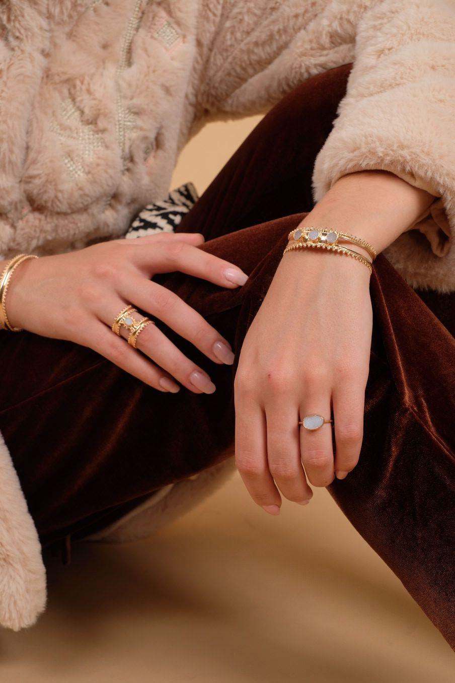 bohemian chic vintage bracelet woman milera ice