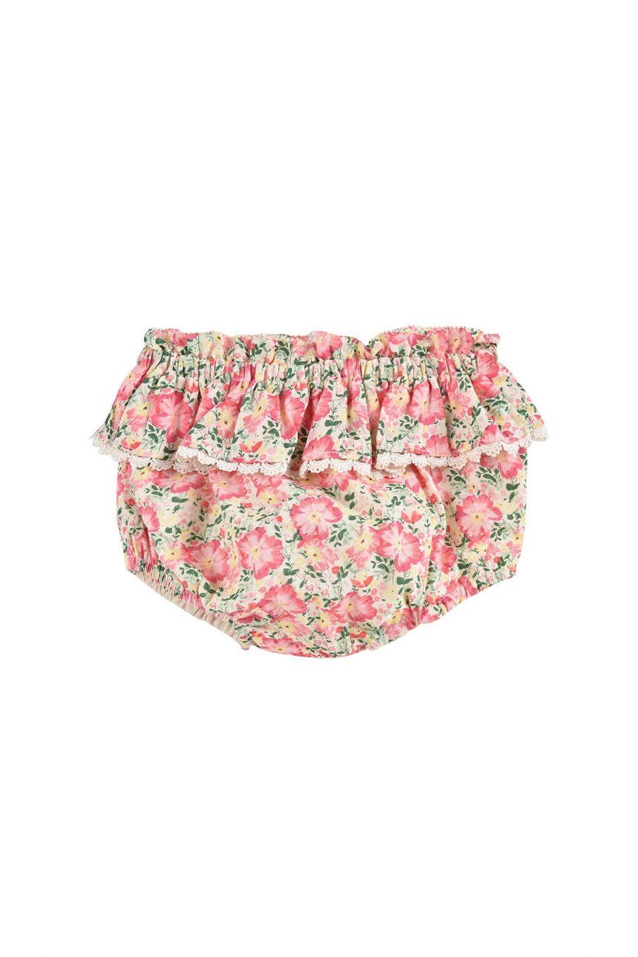 boheme chic vintage bloomer bébé fille calakmul pink meadow