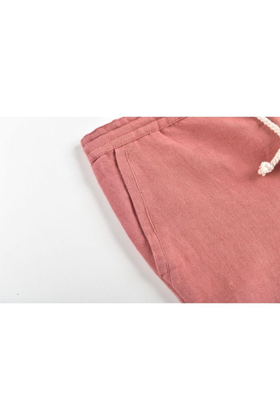 boheme chic vintage pantalon garcon acilu terracota