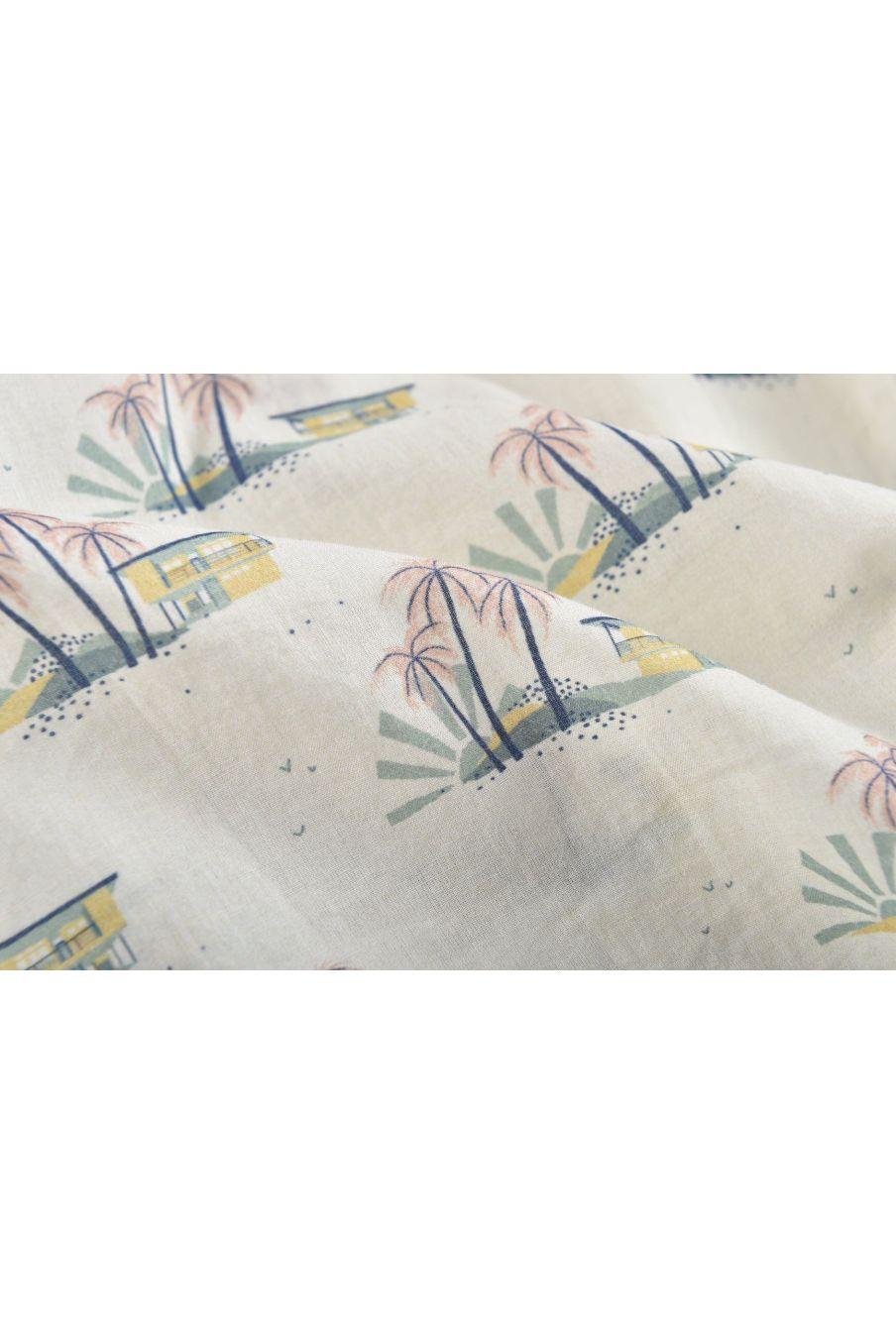 boheme chic vintage chemise garcon alov off-white hawaï