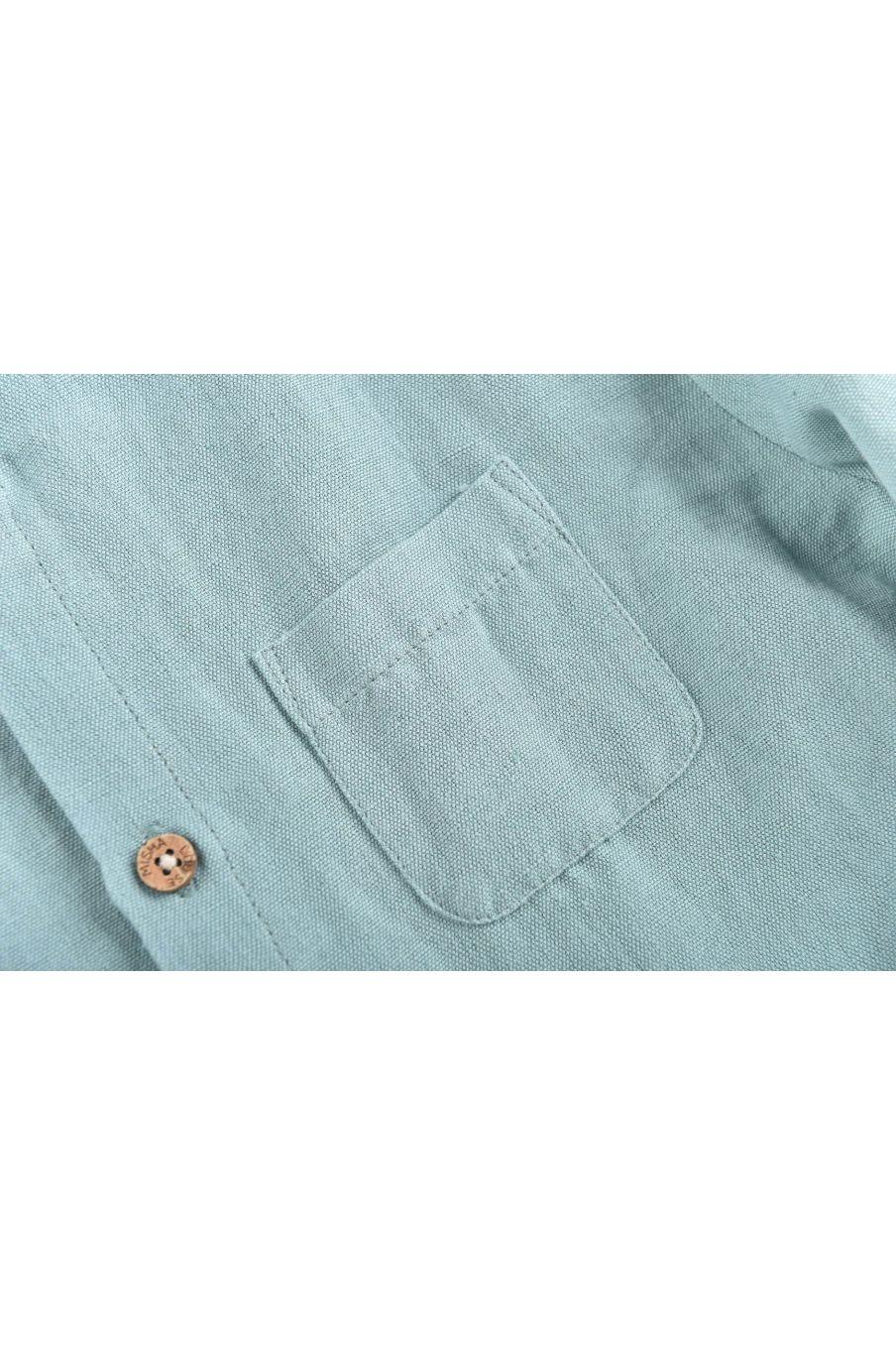boheme chic vintage chemise garcon amod vintage blue