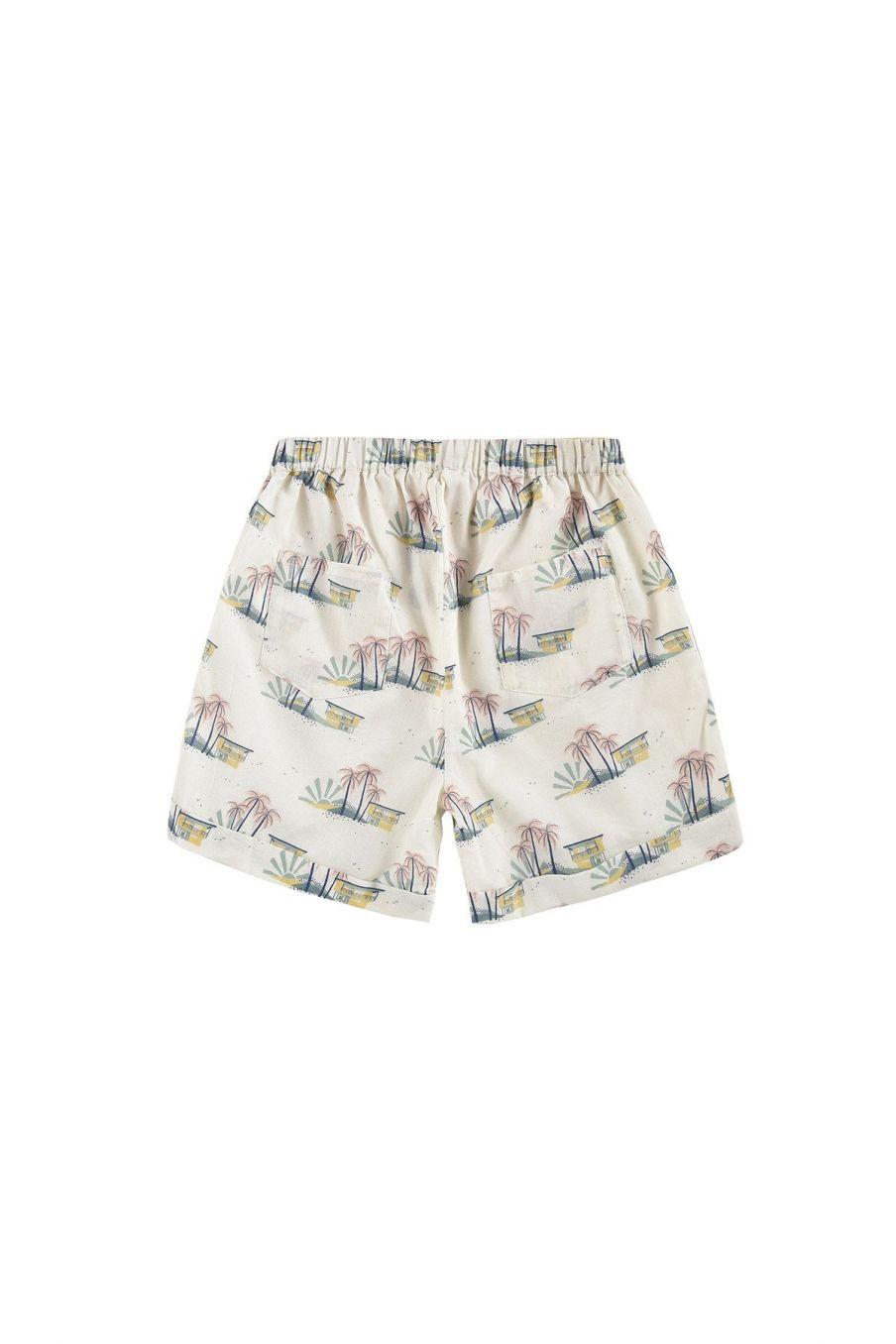 boheme chic vintage short garcon aliki off-white hawaï