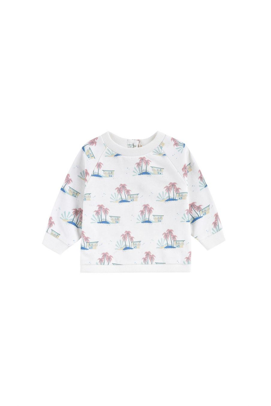 boheme chic vintage sweat garcon afalo off-white hawaï