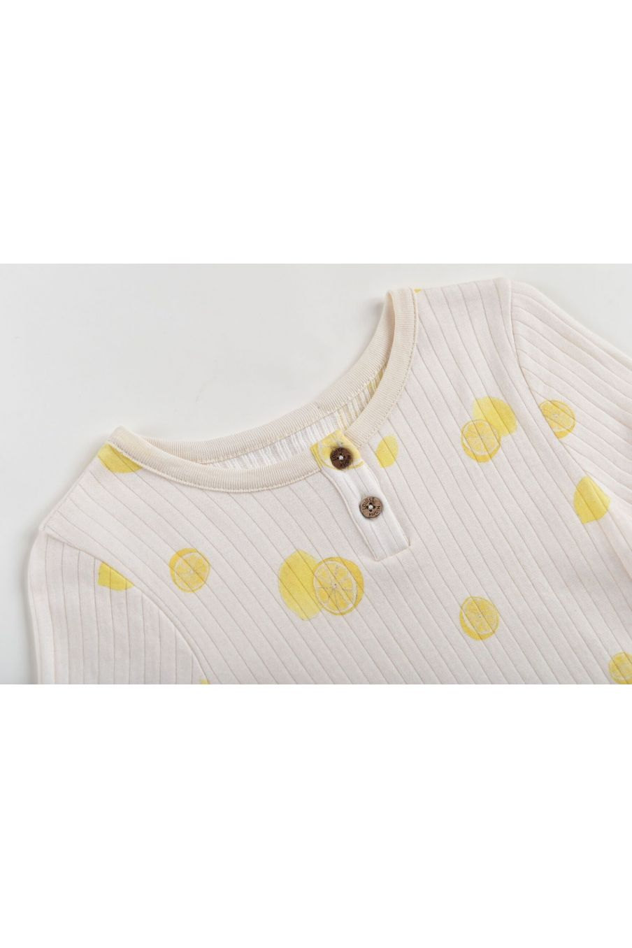 boheme chic vintage t-shirt garcon apoli cream lemons