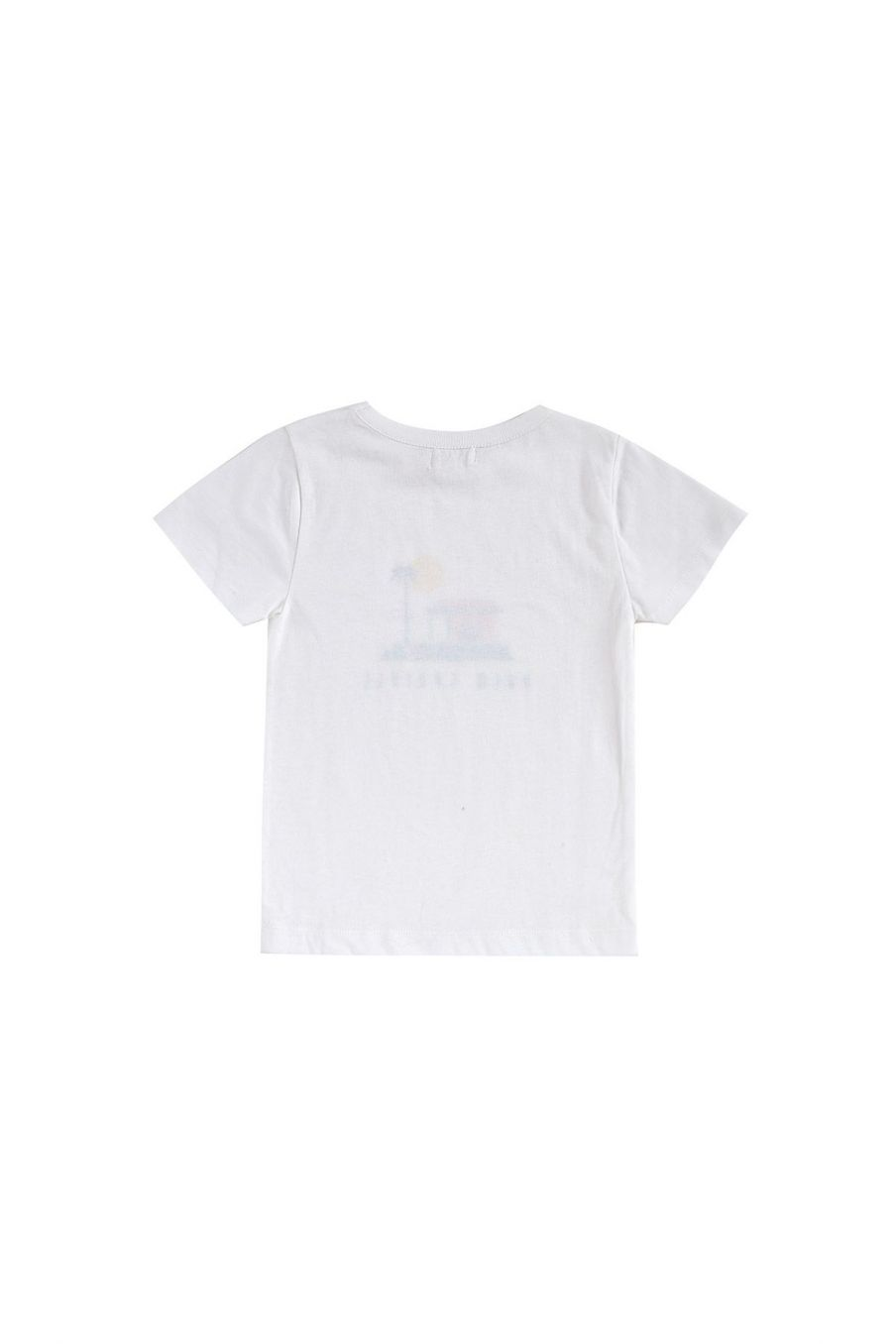 boheme chic vintage t-shirt garcon atayo crème