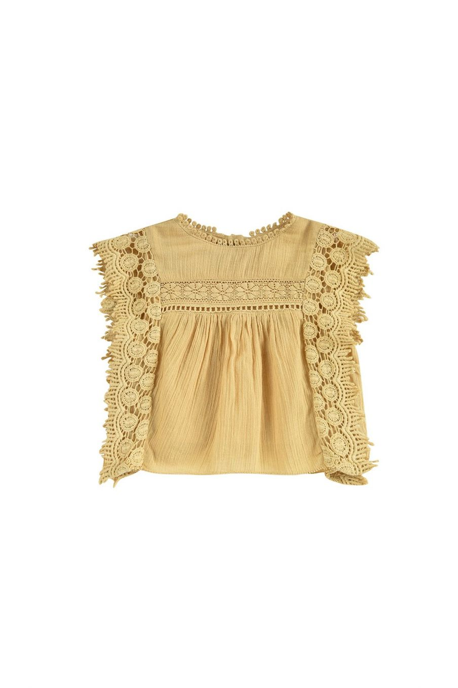 boheme chic vintage blouse bébé fille adolio soft honey