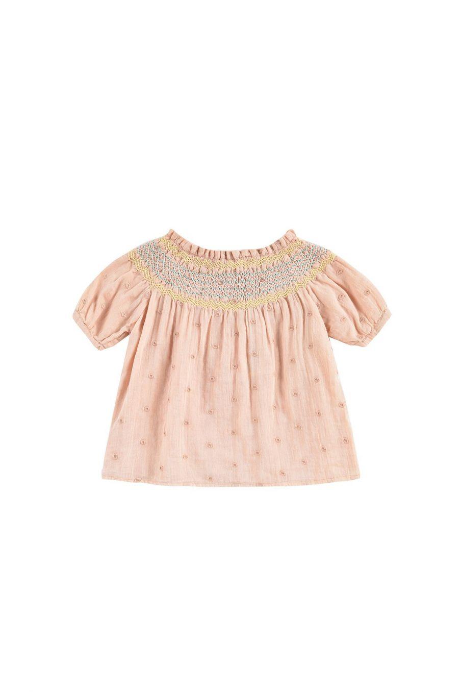 boheme chic vintage blouse fille tyra sienna plumetis