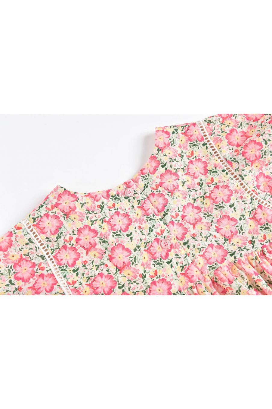 boheme chic vintage robe fille christina pink meadow
